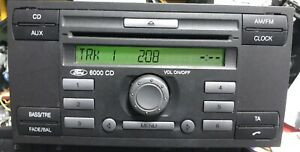 Ford 6000 Aux In /fiesta/focus/transit With Code Fully Tested🇬🇧