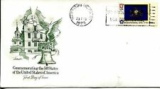 1976 STATE FLAGS PENNSYLVANIA ARTMASTER CACHET UNADDRESSED FDC