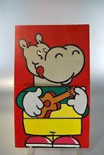 Menu Hippopotamus Child 1996 Games Rebus
