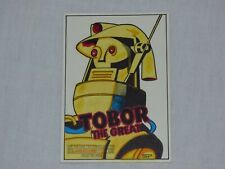 TOBOR THE GREAT 2006 VINTAGE MOVIE POSTER SKETCH CARD BY SEAN PENCE