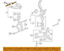 HONDA OEM Front Suspension-Upper Control Arm Bolt 90172SDAA00