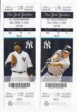 Alex Rodriguez Home Run 584 Yankees 4/17 Ticket New #8