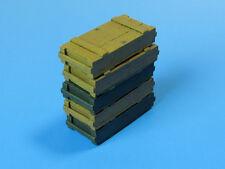 Ammo cases pour 7,5cm KwK40/stuk 40 (stug iii, stug iv, pzkpfw iv) #E002 1/35 eureka