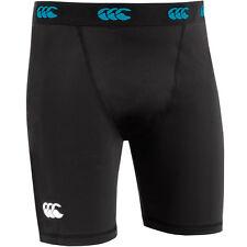 Canterbury Frío Hombre Capa Base Pantalones Cortos Negro O AZUL MARINO