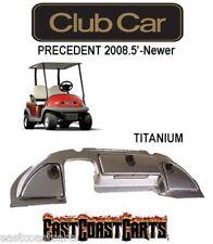 Club Car Precedent Golf Cart Dash Cover 2008.5'-Newer TITANIUM