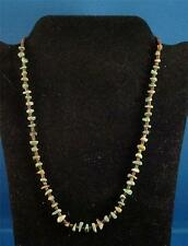 NATIVE AMERICAN SANTO DOMINGO INDIAN JEWELRY BEADED NECKLACE JEANETTE CALABAZA