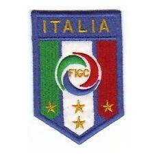 [Patch] FIGC cm 5 x 7,5 toppa ricamata ricamo termoadesiva -134