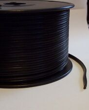 25 ft. BLACK PLASTIC COVERED LAMP CORD 18/2 SPT-1 UL LISTED 46602JQ