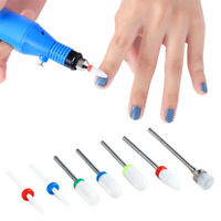 7Pcs/Set Nail Drill Bits Mixed Patterns Grinding Remove UV Gel Nail Accessories