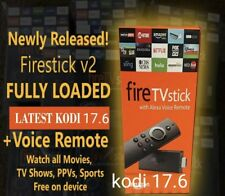 🔥 Amazon TV Fire Stick 2nd Generation With Kodi 17.6 Alexa Voice 🔥