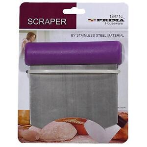 SCRAPER Smooth Ganache icing cake decorating Sugarcraft dough cutter steel