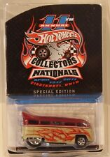 Hot Wheels 11th Nationals/Convention Volkswagen T1 Drag Bus VW Only 3500 Made