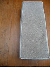 22 INCH (56cm) 13x STAIR PADS BEIGE HARD WEARING TWIST PILE  BN CHEAP #3046