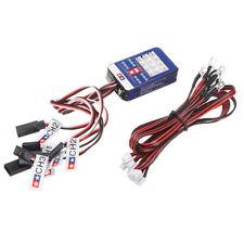 Steering System Lighting Kit 12 LED Light fit for TAMIYA TT-01 SCX10 CC01 RC Car