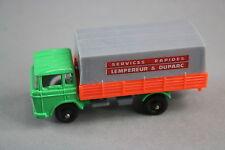 V542 Majorette 1/100 ref 342 Camion DAF 2600 bache services rapides Lempereur D