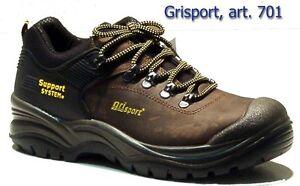 Grisport  scarpa antinfortunistica art 701 LDV ASIAGO S3 HRO HI MARRONE DAKAR