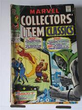Marvel Collector's Item Classics 17 Gd/Vg Sku6489 60% Off!