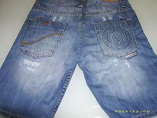 Pantaloni jeans corti uomo/ragazzo  FRANKIE GARAGE taglia 28