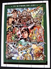 STAR WARS RETURN OF THE JEDI REPUBLIQUE DU MALI 1997 MNH STAMP SHEET SKYWALKER