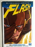 THE FLASH volume 1 Lightning Strikes Twice (2017) DC Comics TPB FINE