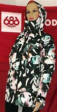 2020 NWT 686 GLCR Cloud Down Thermagraph Jacket Snowboard Small S Womens 20K b18