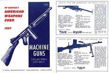 Hy Hunter's American Weapons Corp. 1957 Machine Gun Catalog