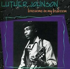 Lonesome In My Bedroom - Luther Snake Boy Johnson (1992, CD NEU)