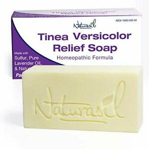 Naturasil Homeopathic Remedies Tinea Versicolor 10% Sulfur Soap   Also Helps ...