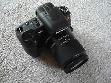 LikeNew Sony α (alpha) A350 14 MP Digital SLR DSLR Camera + 18-70mm Lens