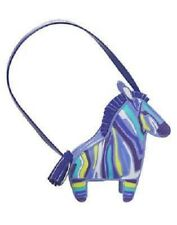 GYMBOREE Sparkle Safari Purple Zebra Purse/ Pocketbook/ Bag NEW