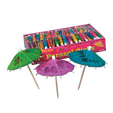 Boxed Party Parasol Picks (Pack of 24)