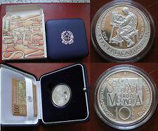REPUBBLICA ITALIANA I.P.Z.S. MONETA ARGENTO 10 € PROOF 2007 SCUOLA ARTE MEDAGLIA