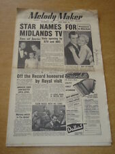 MELODY MAKER 1955 DECEMBER 3 MIDLANDS TV NORMAN DIANA COUPLAND AMBROSE +