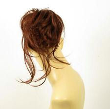 hair bun scrunchie dark brown copper intense ref: 22 322 peruk