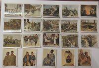 Deutsche Armee, 1. Weltkrieg 20 alte Sammelbilder ca. 30er Jahre ♥ (4294)