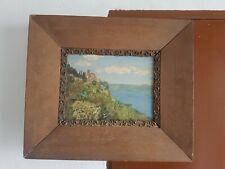 Gemälde Ölbild im Eiche Rahmen von Jos. Masseretti signiert