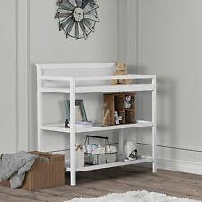 Baby Changing Table Station Infant Dresser Storage Shelf Nursery Furniture White