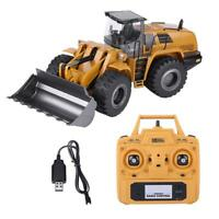HUINA 583 2.4G 1:14 RC Bulldozer Engineering Vehicle Simulating Excavator#GD