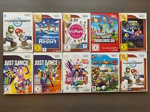 Nintendo Wii Spiele Auswahl New Super Mario Bros, Mario Kart, Wii Party, Party 8