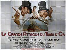 LA GRANDE ATTAQUE DU TRAIN D'OR Affiche Cinéma GEANTE 4x3 WIDE Movie Poster