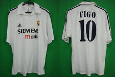 2002-2003 Real Madrid Jersey Shirt Camiseta Figo #10 XL UEFA Champions League