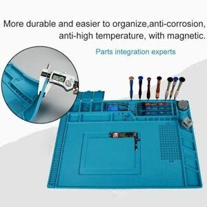 Phone Repair Magnetic Heat Insulation Silicone Pad Desk Work Mat / Repair Tool