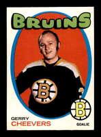 1971 O-Pee-Chee #54 Gerry Cheevers  NM X1616755