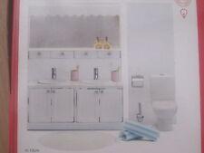 Puppenstube Badezimmer mit Licht u. Zubehör *NEU* Lundby smaland