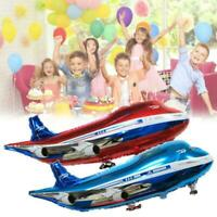 Foil Balloon Airplane Airbus Modeling Birthday Party 82*42 Hot Decor Kids G N3K6