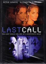 Last Call - DVD starring Peter Coyote, Elizabeth Berkley - NEW/SEALED