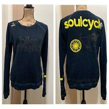 Soulcycle Free City Long Sleeve Sweatshirt Blue Women's Size 1/S