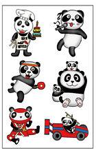 Premium Panda Bear Tattoos, Children's Party Favors