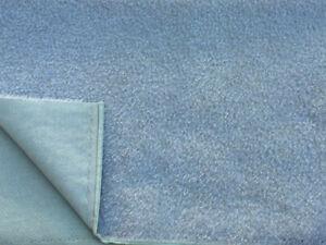 Steiff Schulte 7mm Medium Dense Curled Antique Mohair - Baby Blue