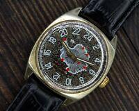 Soviet Wristwatch Raketa 24 HOURS 2623H Antarctic Mechanical Watch USSR